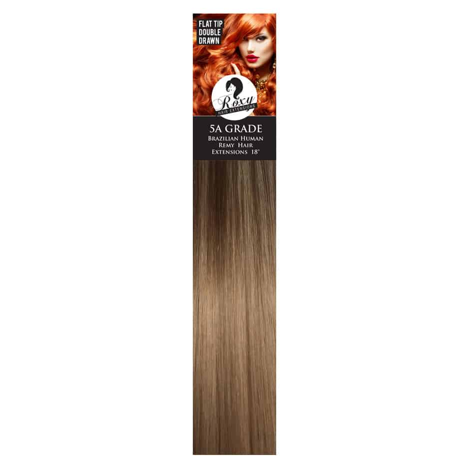 Honeycomb Brazilian Flat Tips 18 08g Roxy Hair Extensions